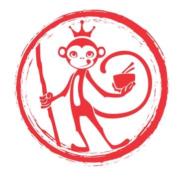 Monkey King Noodle Company-Grapevine logo top