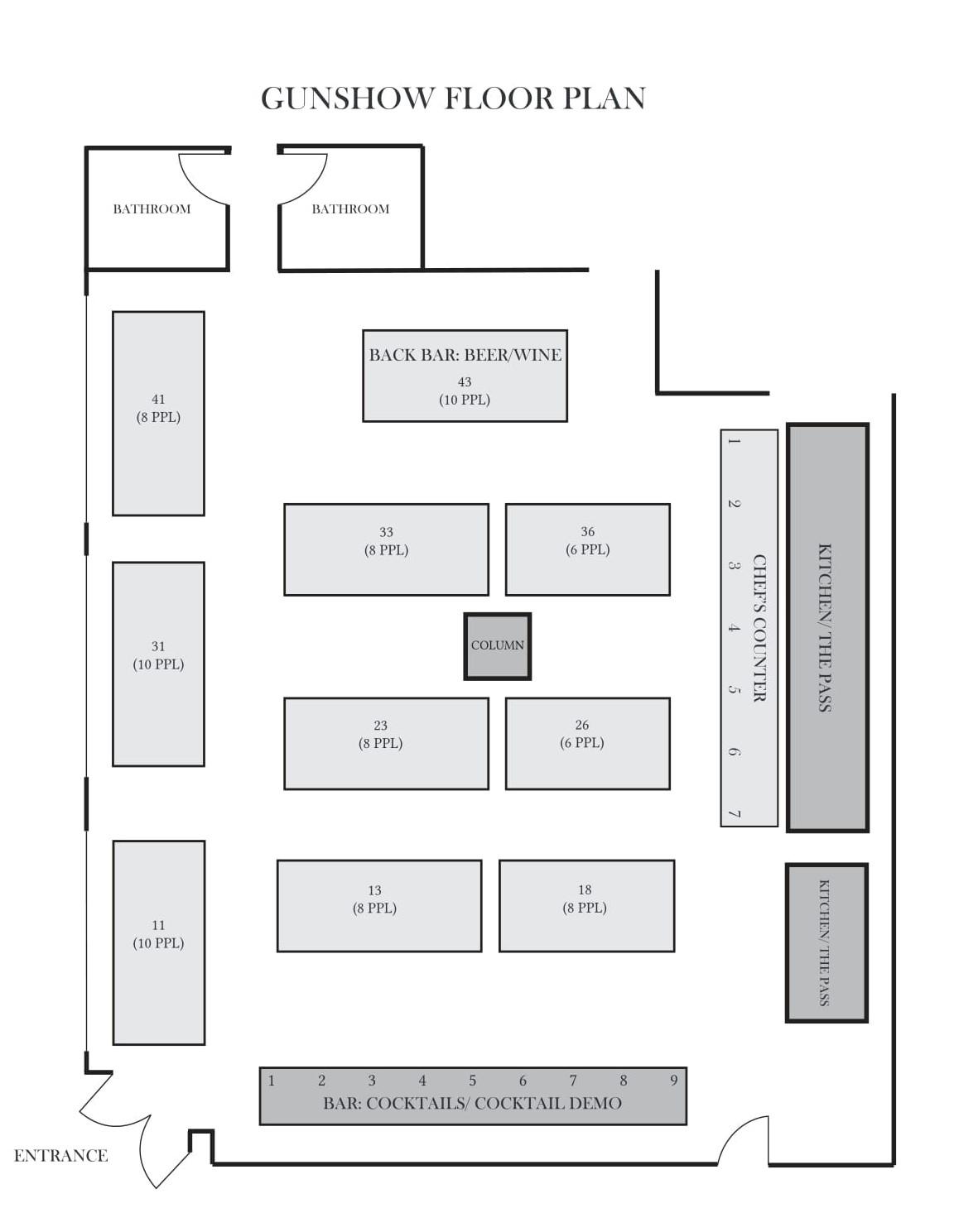 gunshow floor plan