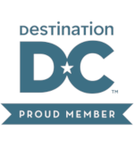 Destination DC, proud member logo
