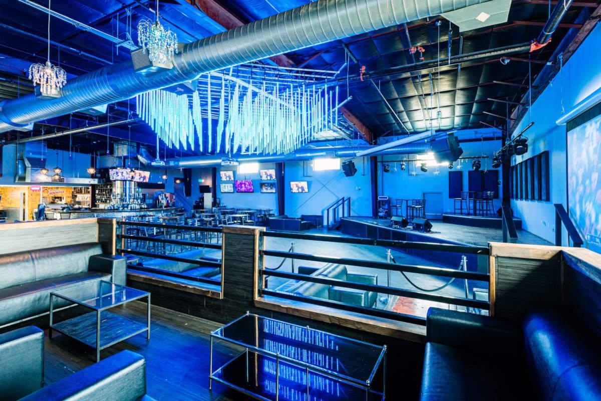 interior, bar, big TV screens