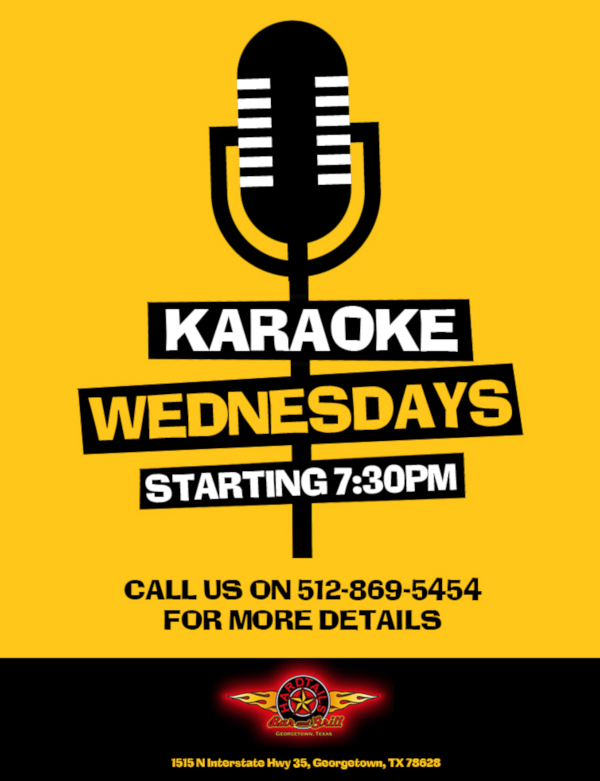 karaoke wednesdays event