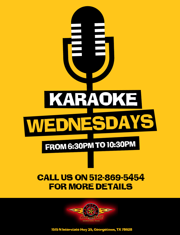 karaoke wednesdays event