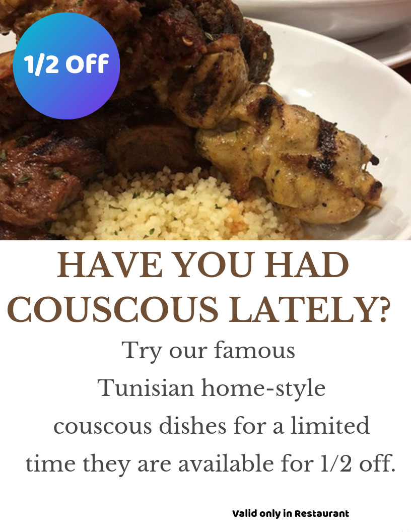 have you had couscous lately? flyer image