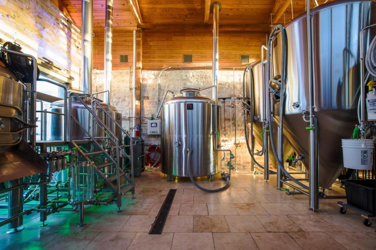 Interior, brewery