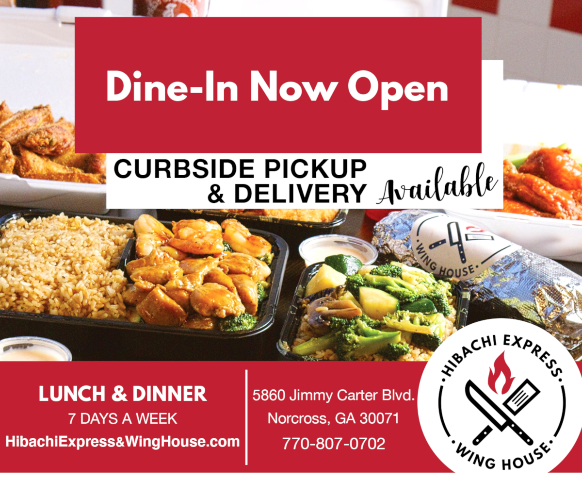 dine-in flyer
