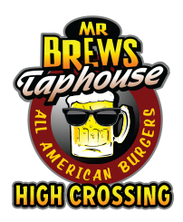 Mr Brews Taphouse - (High Crossing) logo top