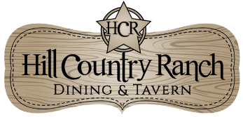 Hill Country Ranch Pizzeria logo scroll