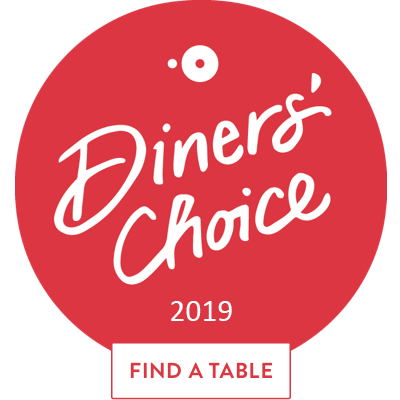 open table Diners' Choice 2019