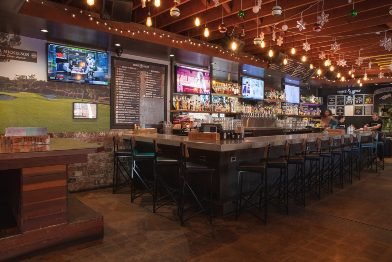 Interior, bar view