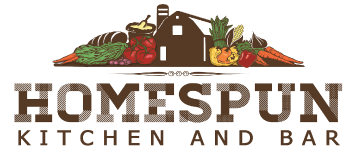 Homespun Kitchen & Bar logo scroll