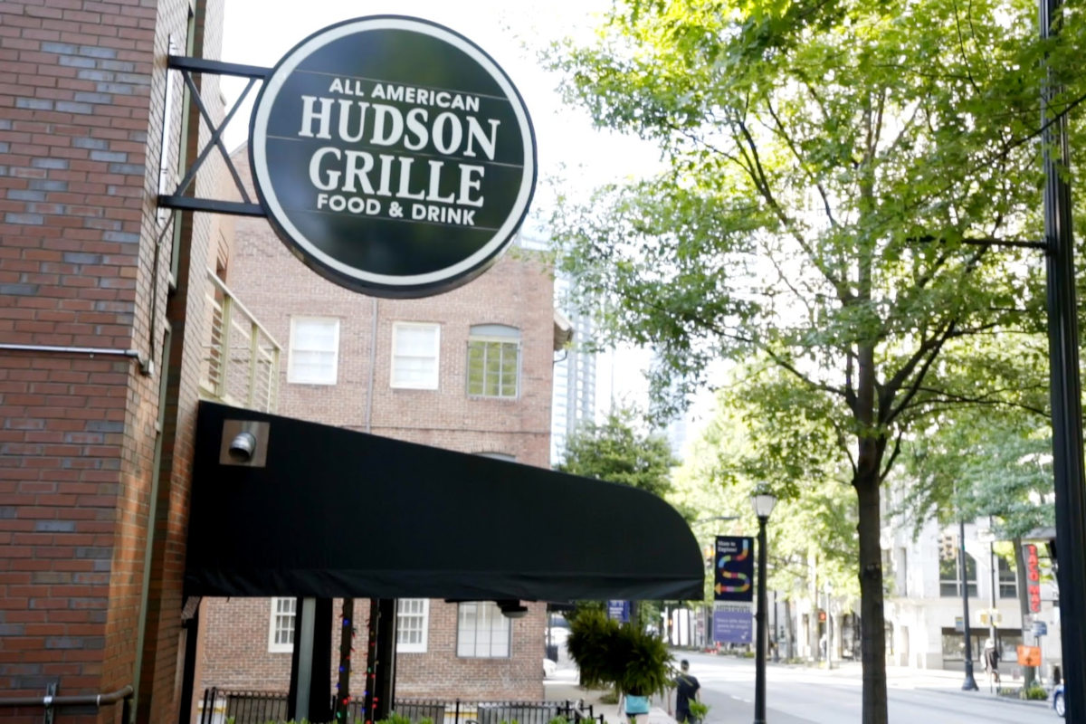 Hudson Grille exterior and sign