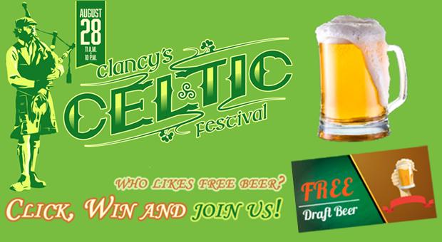 Celtic Festival flyer