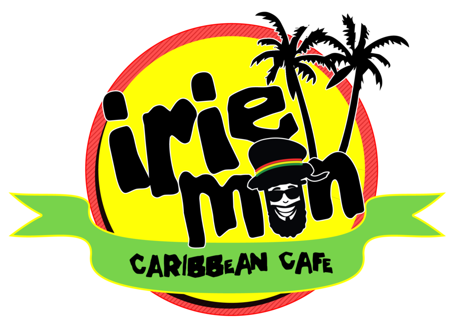 Irie Mon Cafe logo scroll