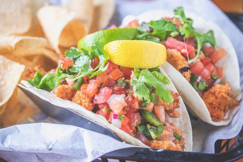 Two taco basket