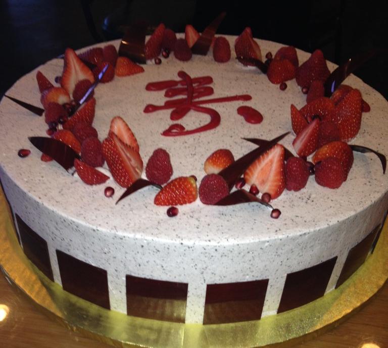 Soy milk cake