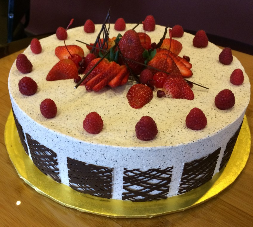 Soy milk cake 2