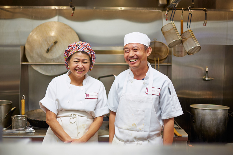 chef Mei Teng and chef