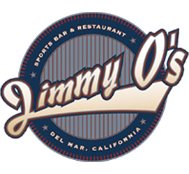 Jimmy O'S Sports Bar Restaurant logo scroll