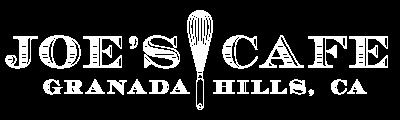 Joe's Cafe logo top