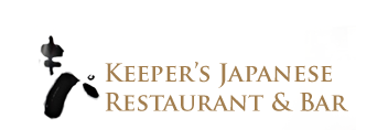 Keeper's Japanese Restaurant & Bar logo scroll