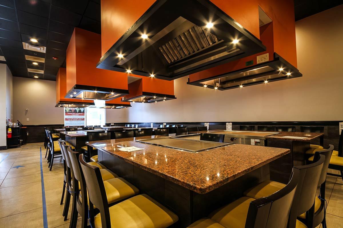 Kobe Steak and Sushi restaurant interior