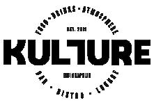 Kulture Bar & Bistro logo scroll