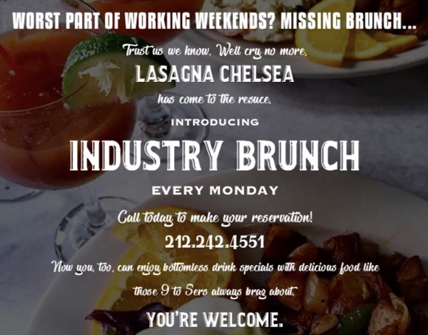 industry brunch event photo