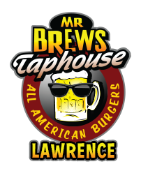 Mr Brews Taphouse - Lawrence logo top