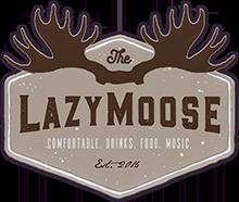 The Lazy Moose logo top