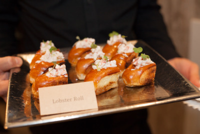 Lobster rolls closeup
