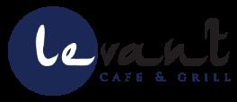 Levant Cafe & Grill logo scroll