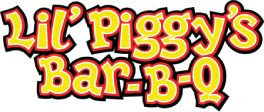 Lil Piggy's Bar-B-Q logo scroll