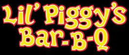 Lil Piggy's Bar-B-Q logo top