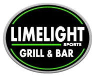Limelight Sports Bar and Grill logo scroll