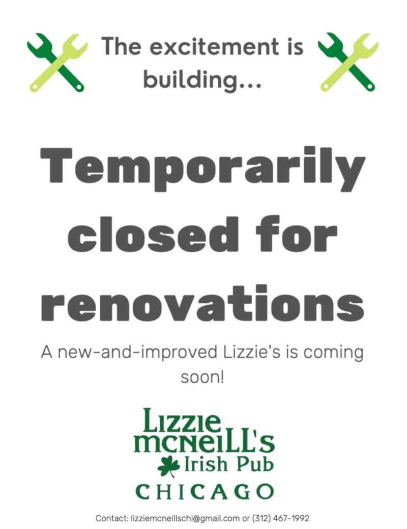Renovation flyer