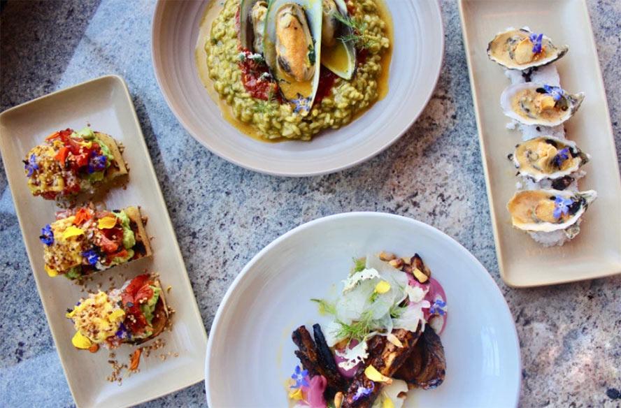 Peruvian cuisine dishes photo