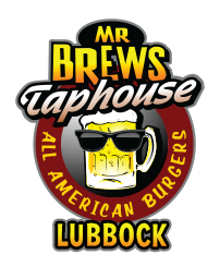 Mr. Brews Taphouse - Lubbock logo scroll