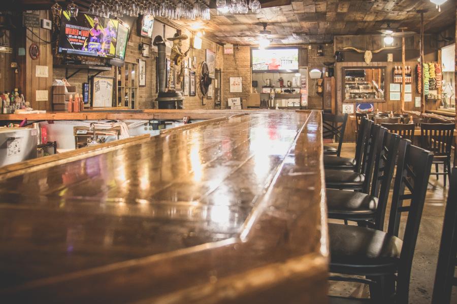 Restauranti interior, bar area