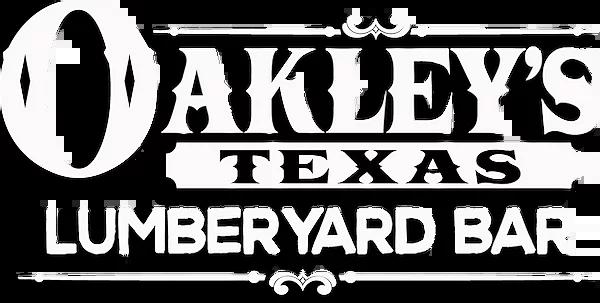 Oakley's Lumberyard Bar logo top
