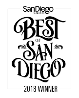 San Diego Magazine 2018 badge