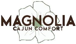 Magnolia Cajun Comfort logo top