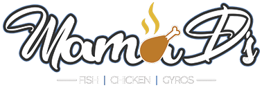 Mama D's Fish Chicken and Gyros logo top