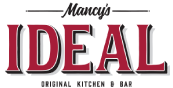 Mancy's Ideal logo top