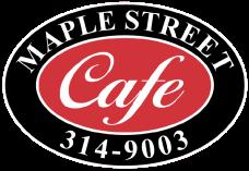 Maple Street Cafe logo top