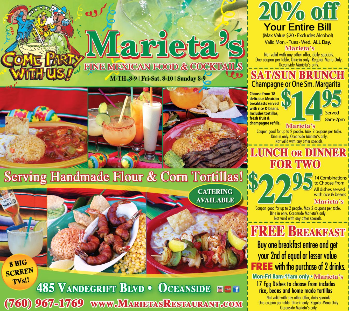 our coupons