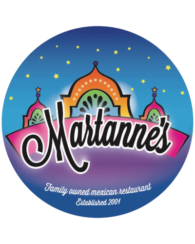 MartAnne's Breakfast Palace logo scroll