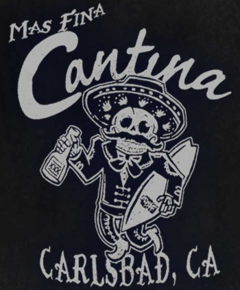 Mas Fina Cantina logo scroll