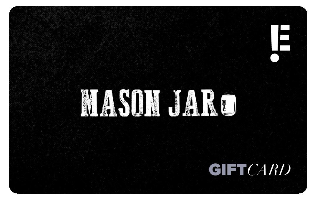 Mason Jar gift card