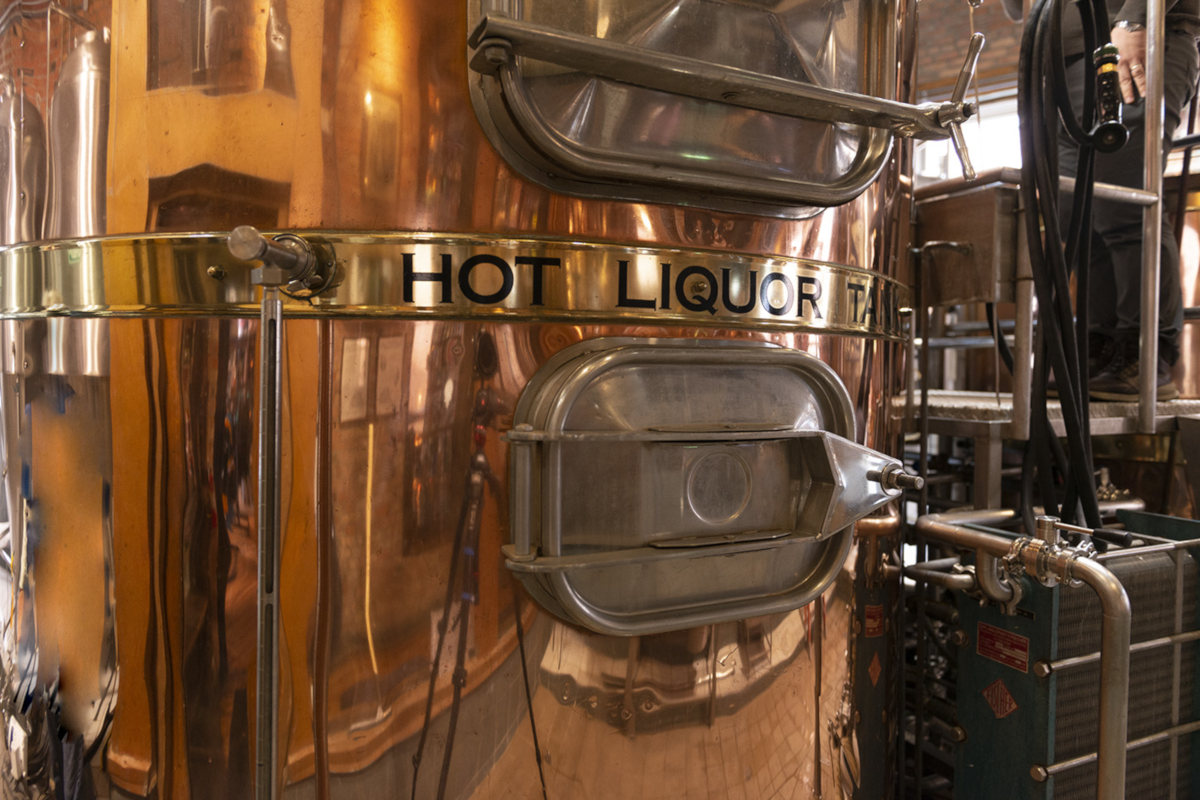 hot liquor tank