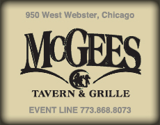 McGee's Tavern & Grille logo top